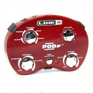 Line 6 Pocket Pod Express – Red